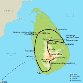 Relaxt Sri Lanka en de Malediven GRO
