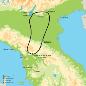 Groepsreis Toscane, Cinque Terre & Venetië