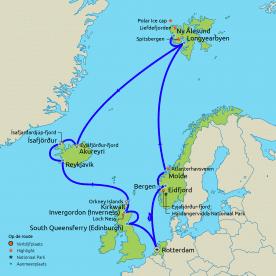 Spitsbergen en IJsland Cruise