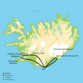 IJsland in een notendop