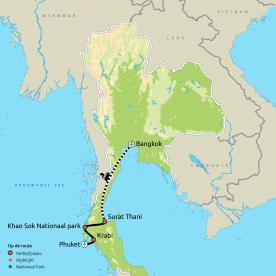Het Paradijselijke Zuiden van Thailand