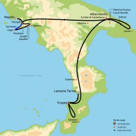 Hoogtepunten van Zuid-Italië