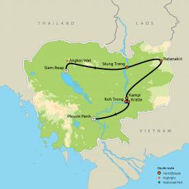 Avontuurlijk Cambodja