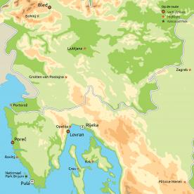 Privéreis Veelzijdig Kroatië & Slovenië