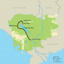Ontdek Cambodja