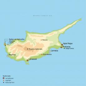 Routekaart Cyprus Compleet