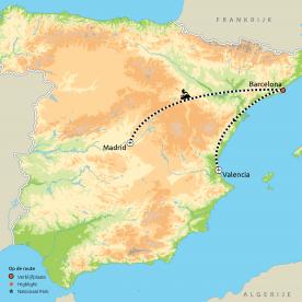 De drie grootste steden van Spanje