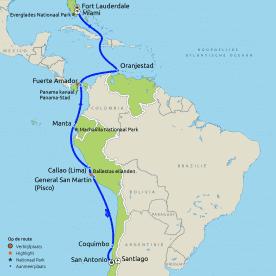 Rondreis & Cruise Panamakanaal (Westerdam)