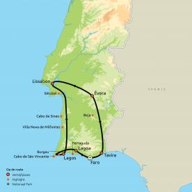 Privéreis De Algarve, Évora & Lissabon