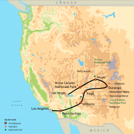 Nationale Parken van het Westen GRO SIC