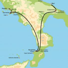 Groepsreis Het wonderschone Zuid-Italië