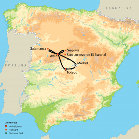 Ontdek Madrid & omgeving (o.b.v. eigen vervoer)