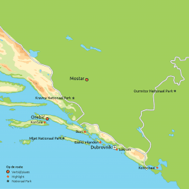Privéreis De schatten van Dalmatië