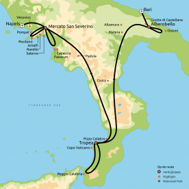 De klassiekers van Zuid-Italie