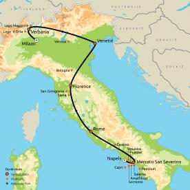 Privéreis Dé ultieme rondreis door Italië!