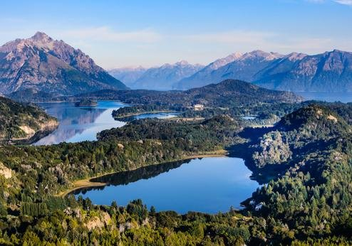 Zeven meren-route Bariloche