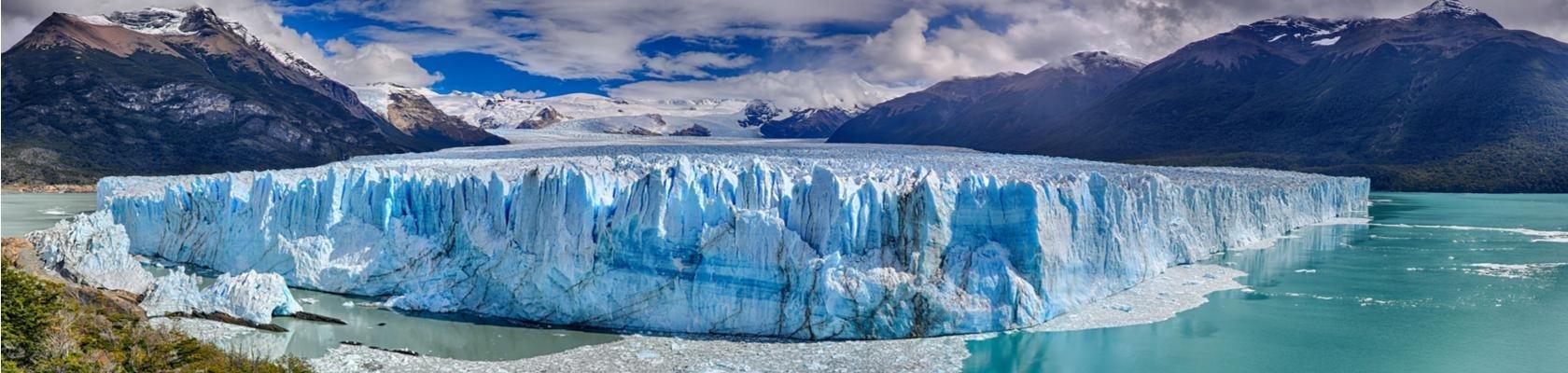 Beroemde Perito Moreno-gletsjer