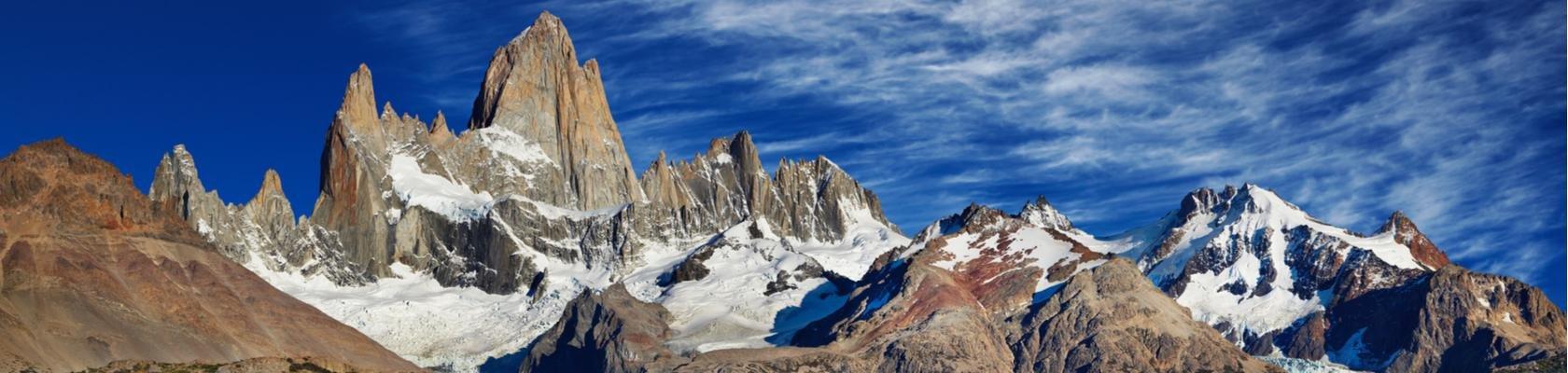 Wandelen in Los Glaciares Nationaal Park