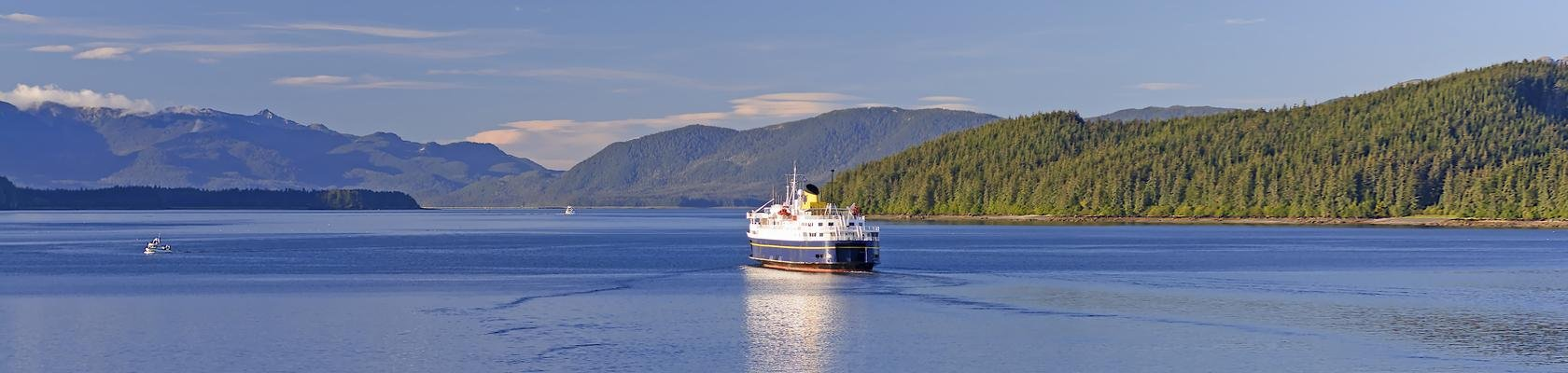 Ferry over de Inside Passage