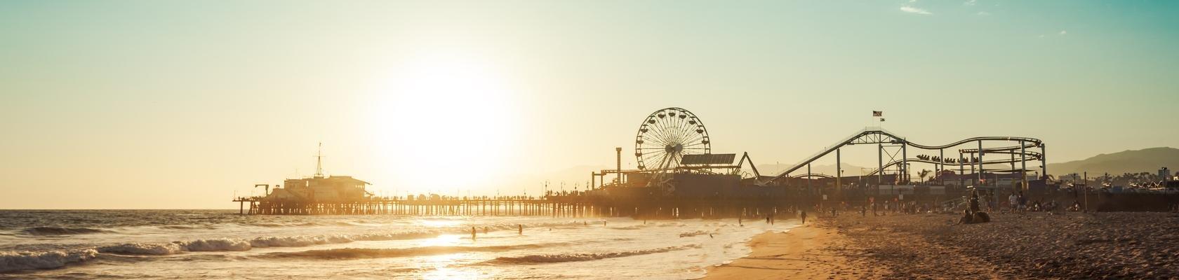 De pier van Santa Monica