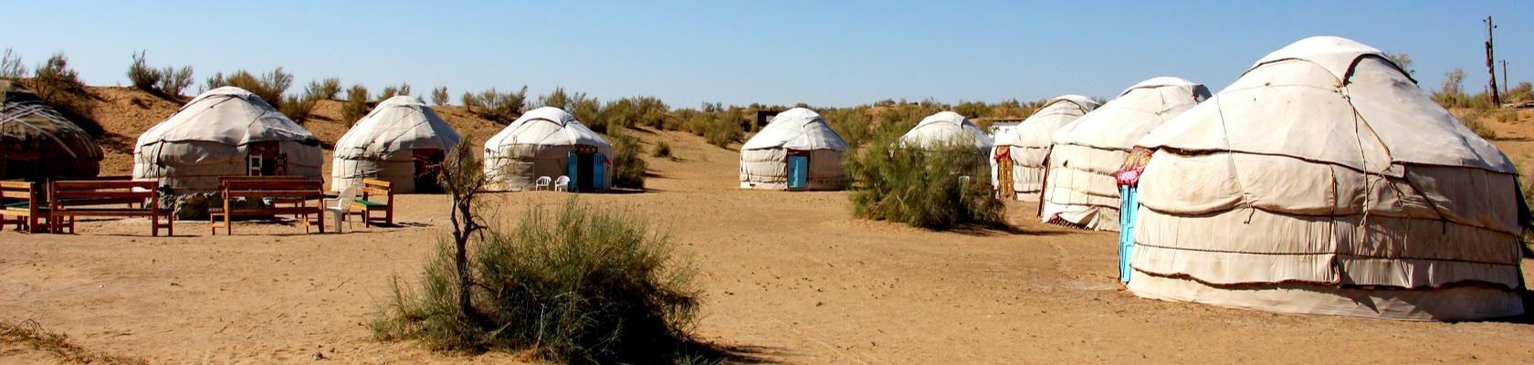 Yurts, Kyzylkum Woestijn