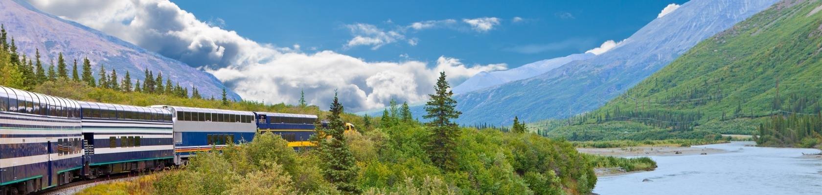 Trein van Denali NP naar Anchorage