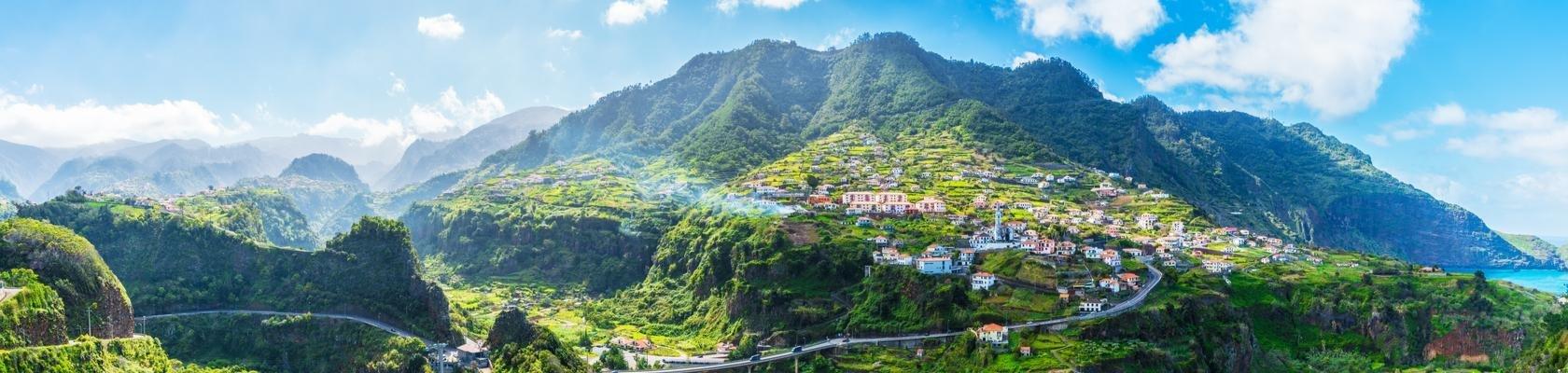 De groene noordkust van Madeira