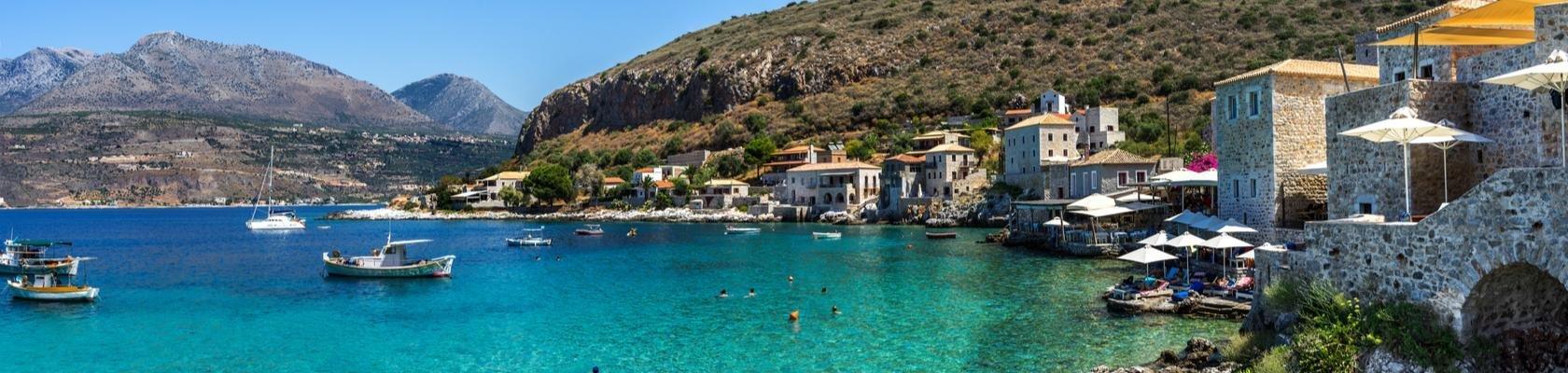 Het schiereiland Mani, Peloponnesos