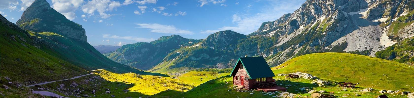 Nationaal Park Durmitor (Montenegro)