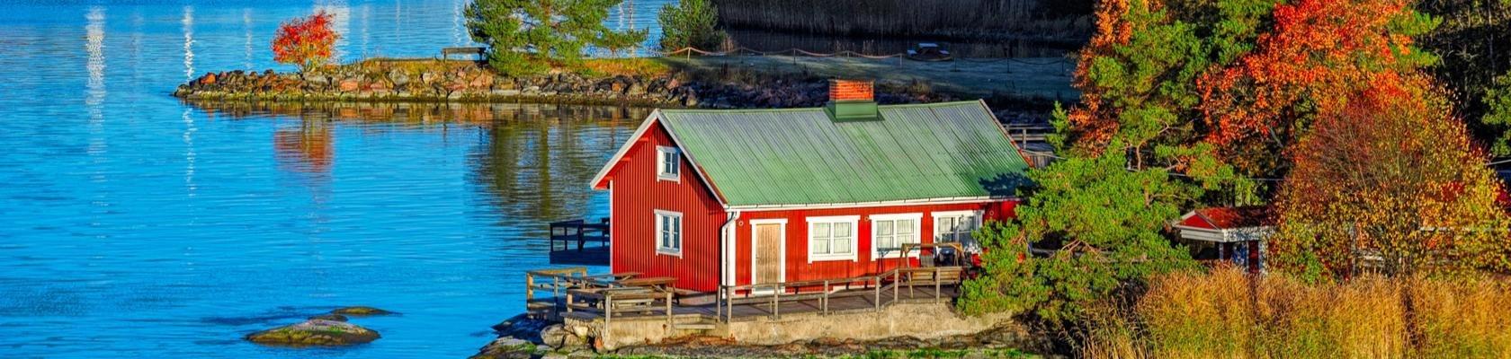 Finland rood huisje