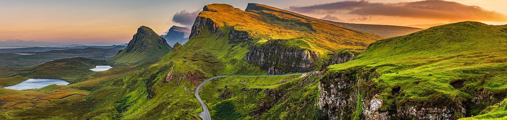 Autorondreizen Schotland