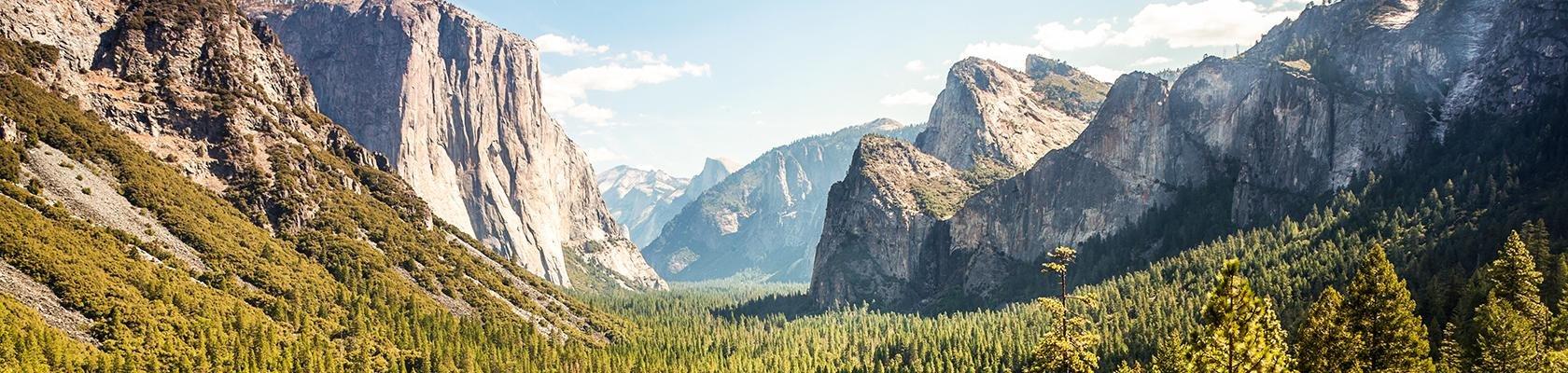 Yosemite Nationaal Park in Amerika