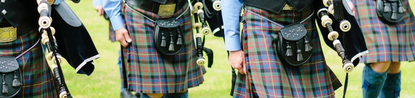 Doedelzak en Schotse ruit