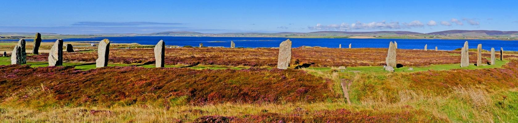 Ring of Brodgar op Mainland, Orkney