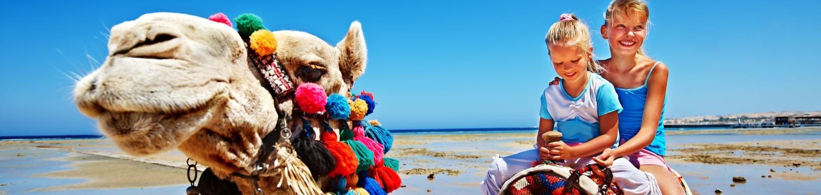 Ritje op een kameel