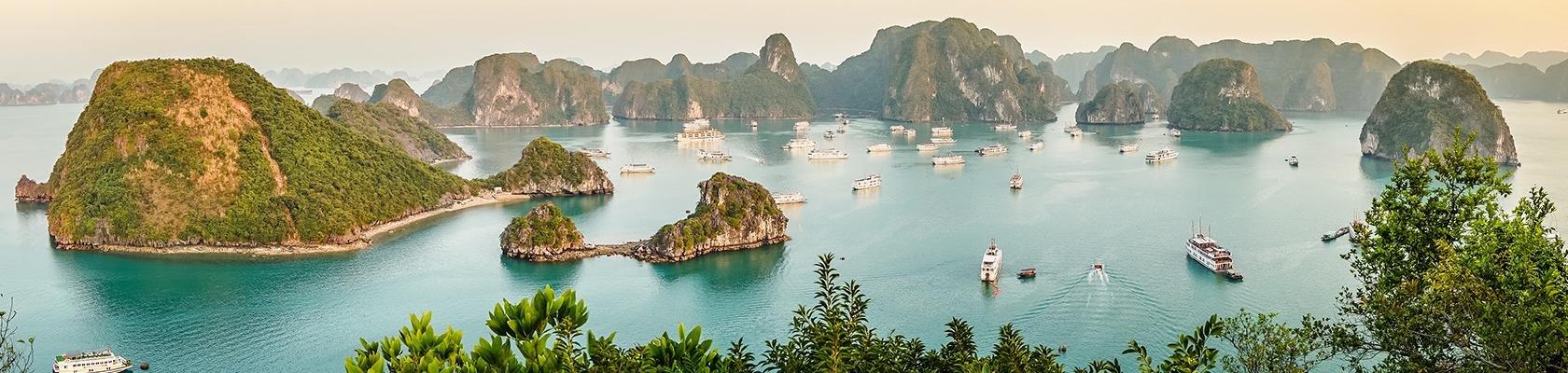 Rondreizen Vietnam met Halong Bay