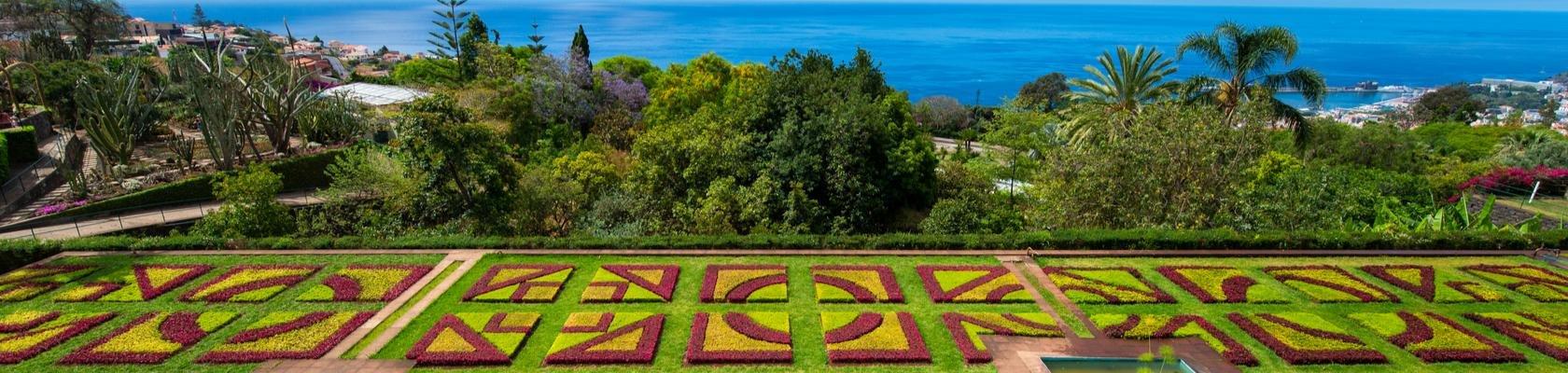 De kleurrijke Madeira Botanical Gardens