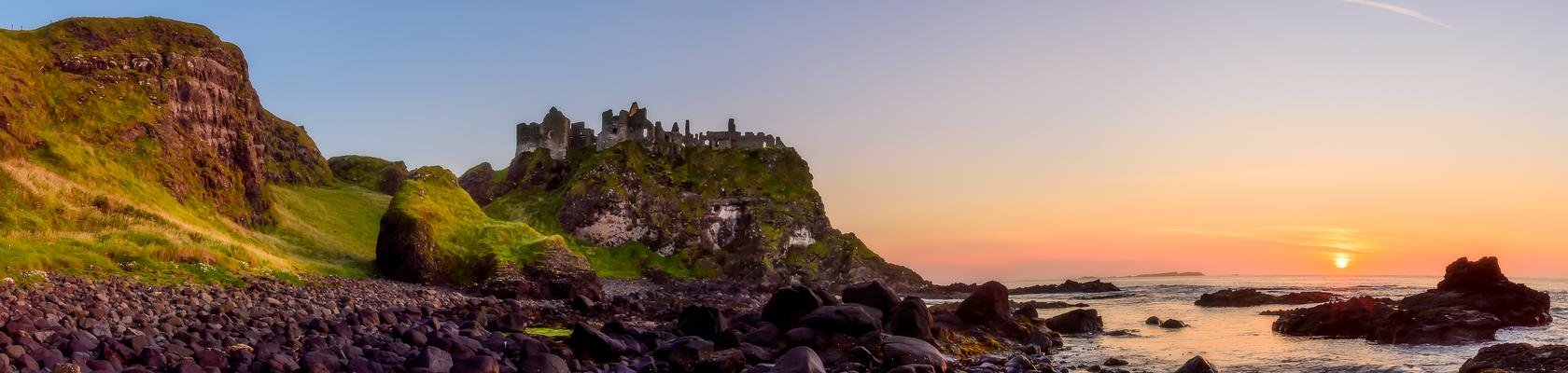 Dunluce Castle uit Game of Thrones - County Antrim