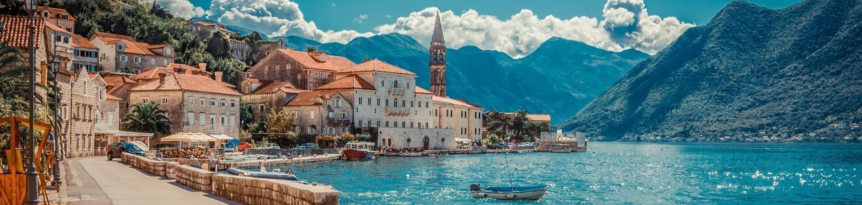 Kotor baai (Montenegro)