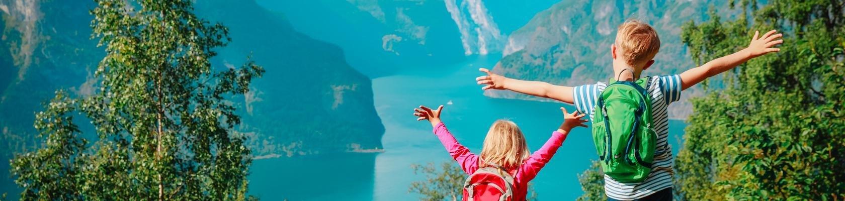 Kinderen in Noorwegen