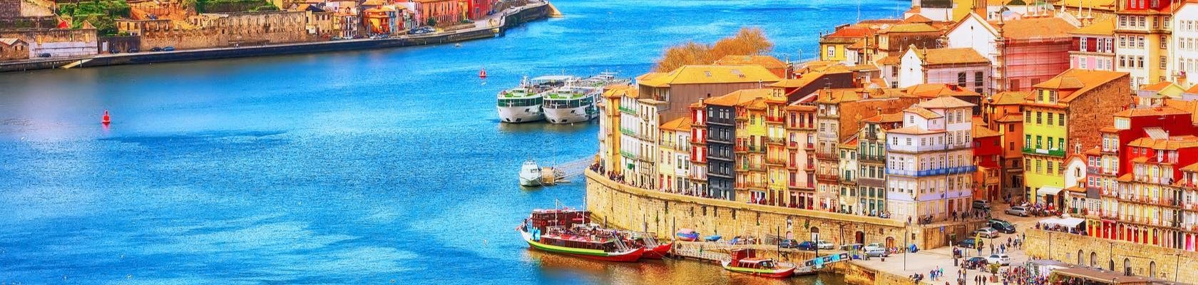 Porto aan de rivier de Douro
