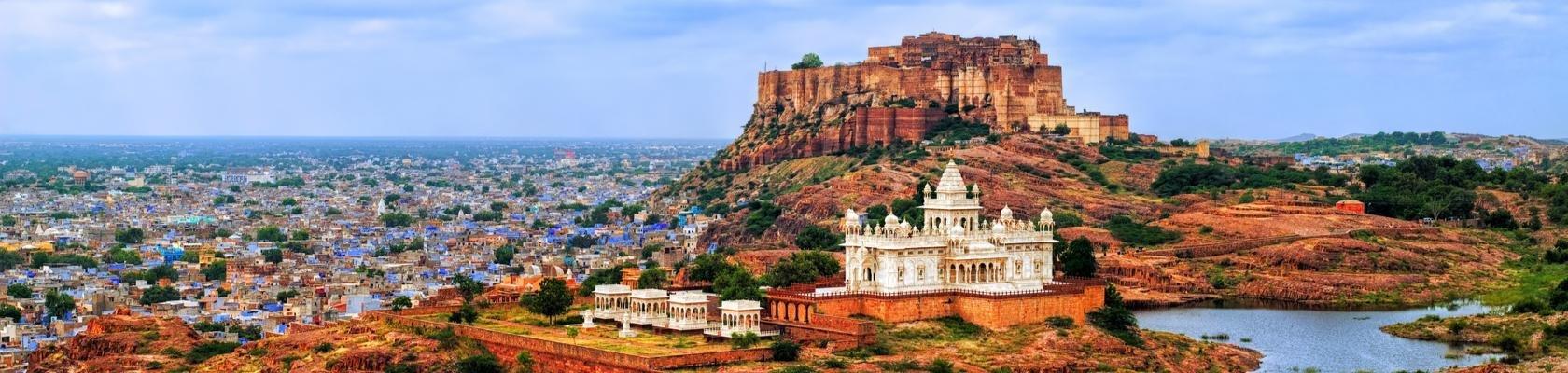 De blauwe stad Jodhpur