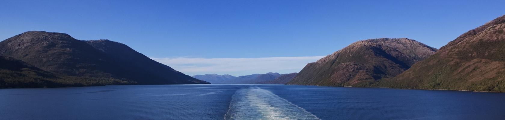 Patagonië vanaf het water