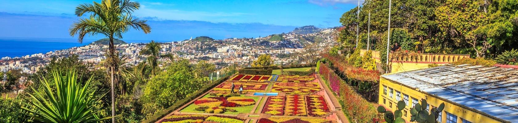 Funchal & de kleurrijke Madeira Botanical Gardens