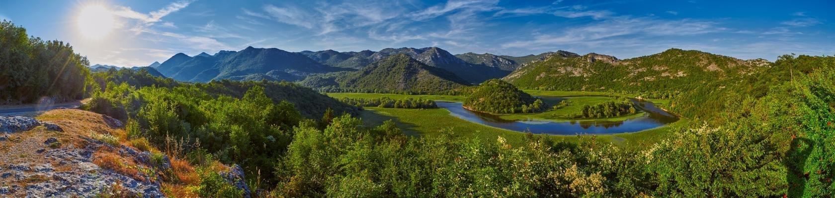 Skadar meer (Montenegro)