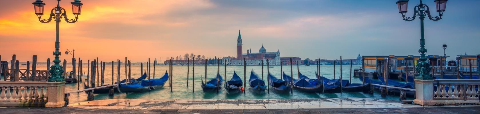 Venetië bij zonsopkomst