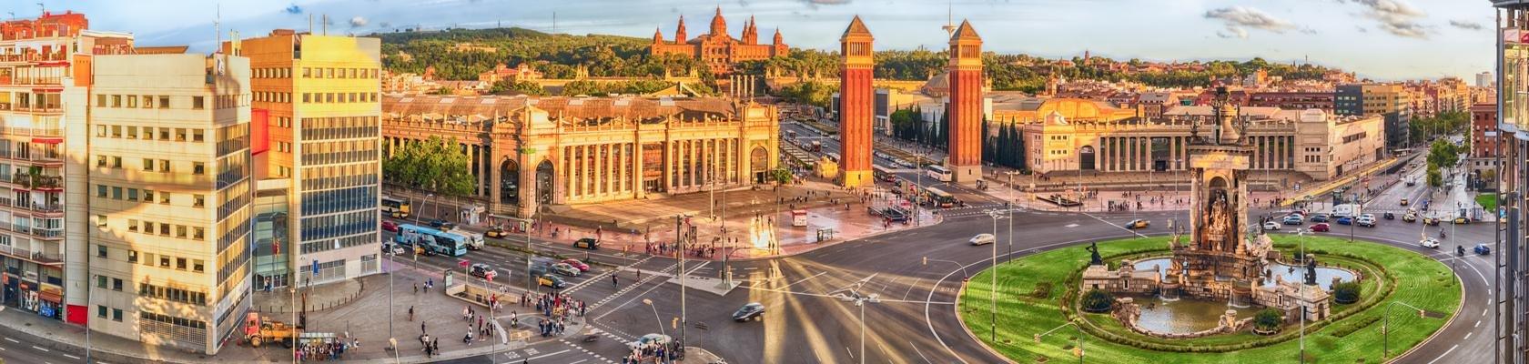 Plaza de Espana: Barcelona
