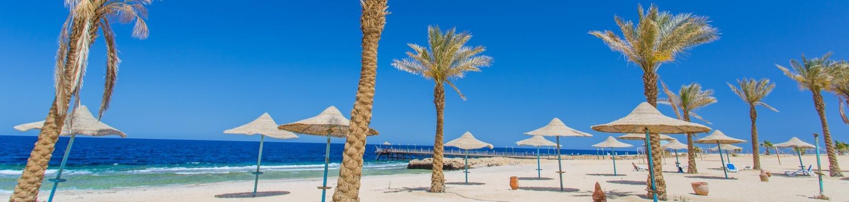Zon, zee en strand in Hurghada