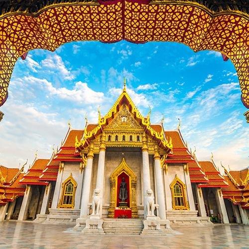 Bangkok, Kanchanaburi & Strand