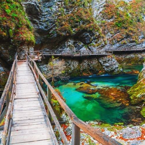 Triglav nationaal park en vintgar kloof